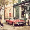 La Mercedes rouge