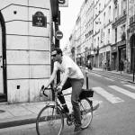 Le cycliste de la rue de Clery
