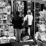 Kiosque à journaux