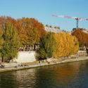 Quai de Seine en automne