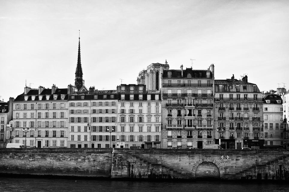 Façades de l'île de la cité