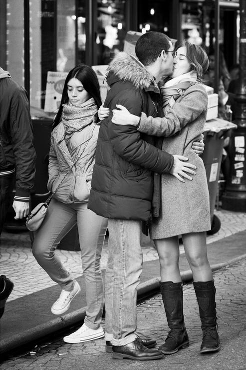 Un baiser fougeux