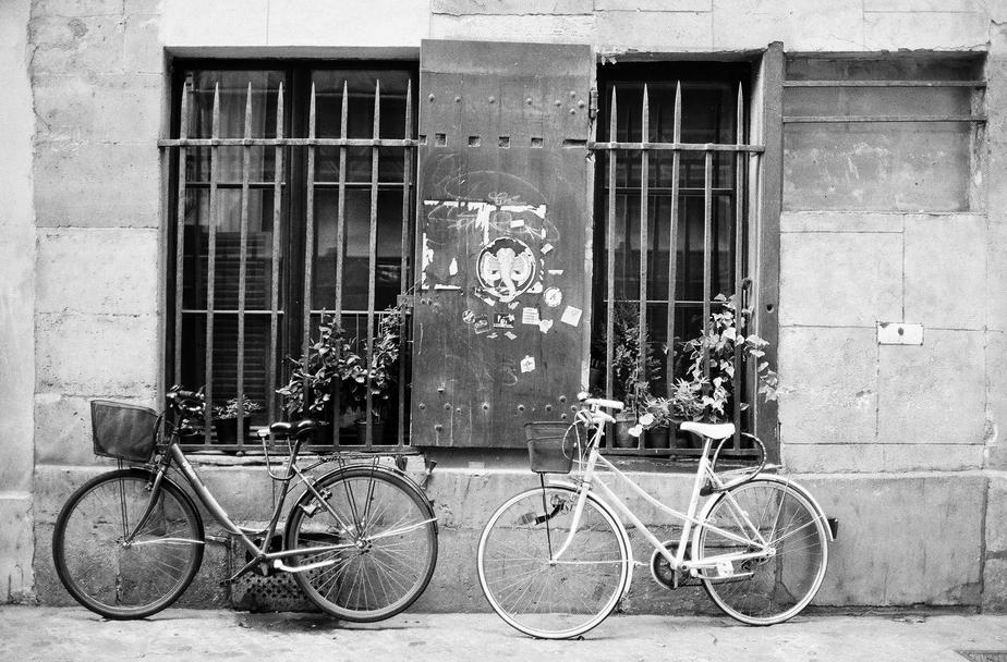 Deux bicyclettes