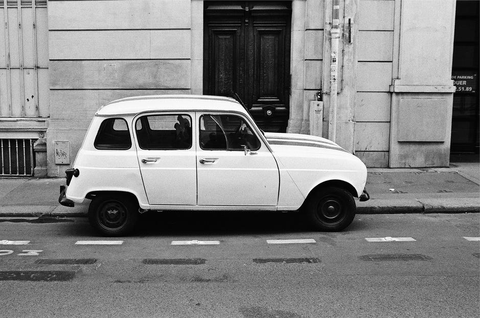 La Renault 4L de Raoul