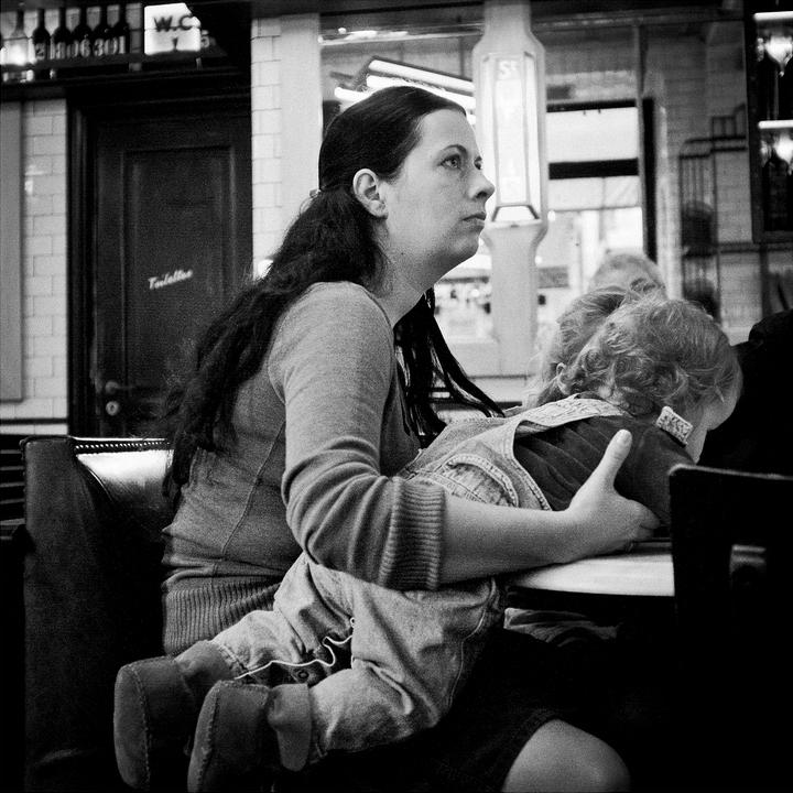 La courageuse maman