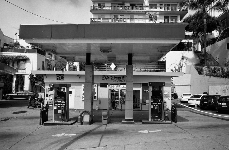 Urban Gas Station