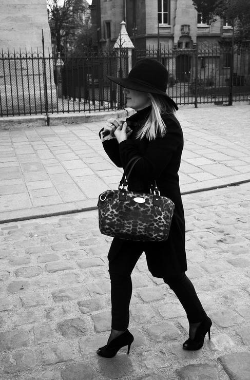 Un chapeau en automne