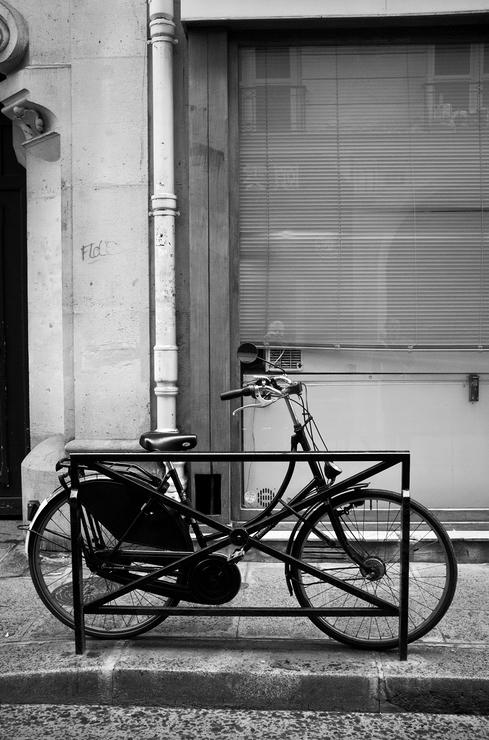 Le vélo noir