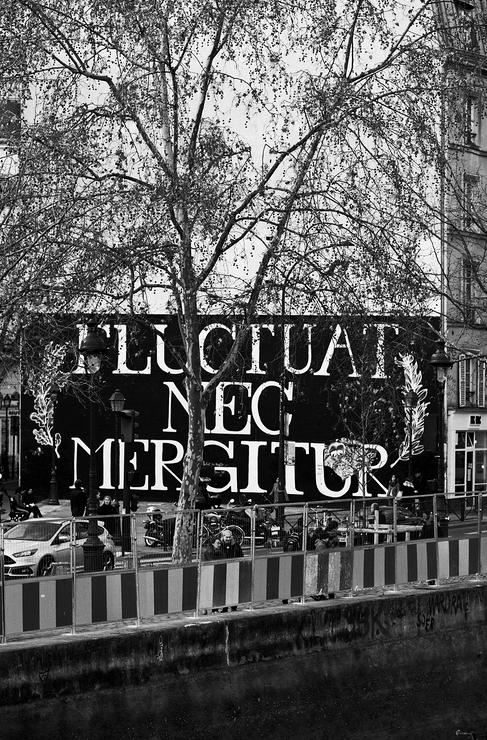 Fresque Fluctuat Nec Mergitur