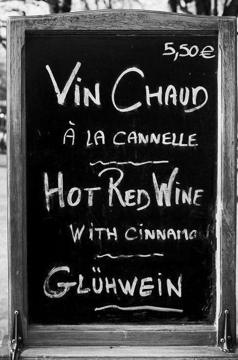 Vin chaud à la cannelle