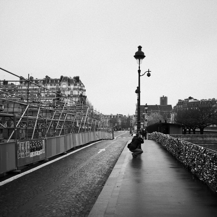 Travaux sur le pont