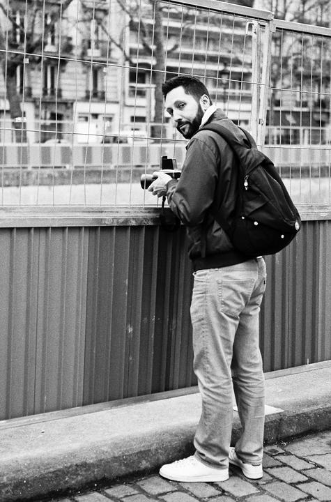 Le photographe barbu