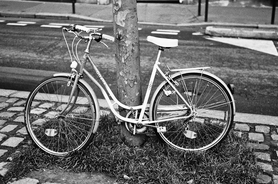 Le vieux vélo