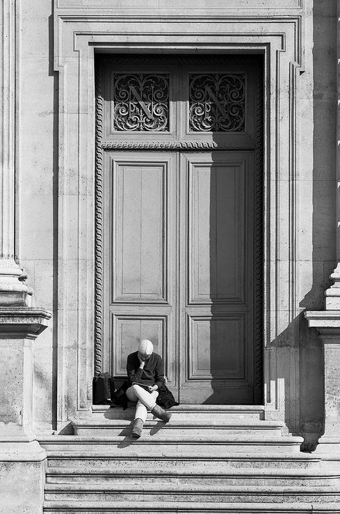 Le penseur du Louvre