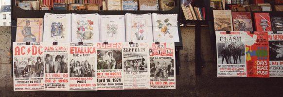 Affiches musicale d'une autre époque