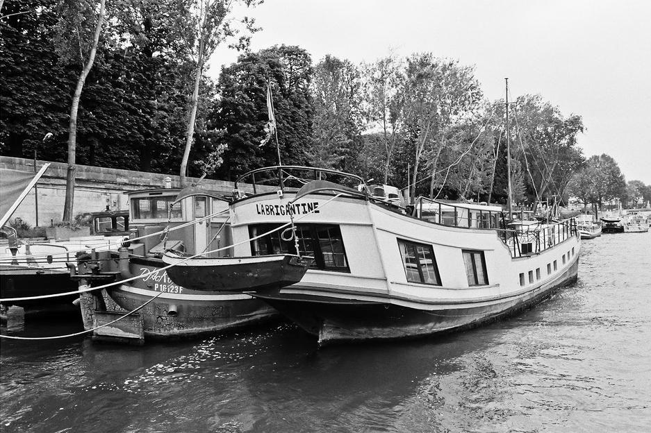 Sur les berges de la Seine