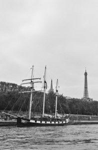 Le trois-mâts : « La Boudeuse »