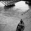 La barque du pont des Arts
