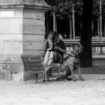 Vanessa et son chien Rodolphe
