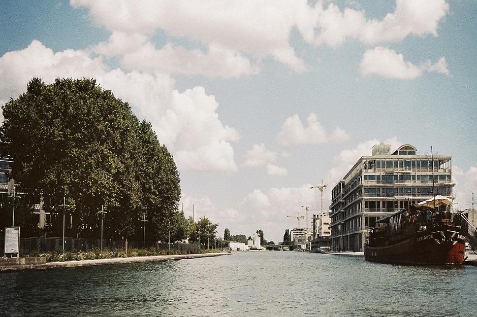 Pantin et le canal de l'Ourcq