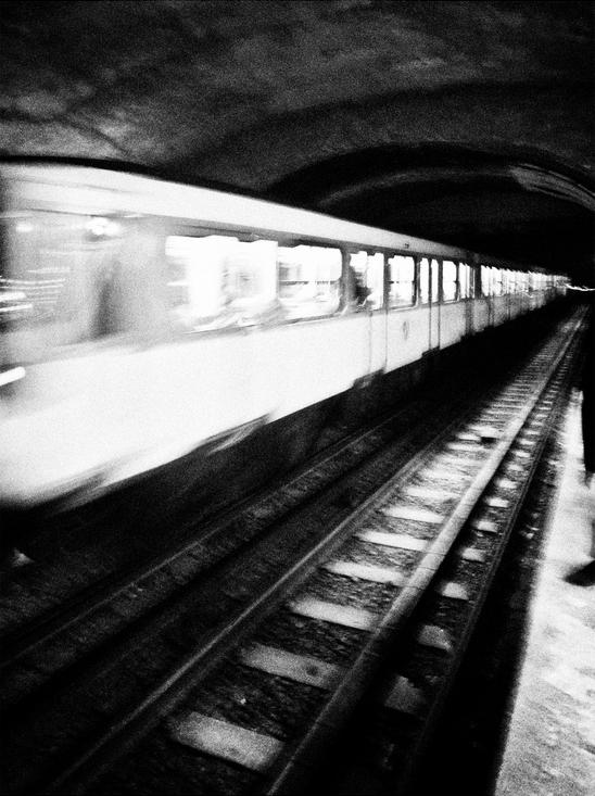 L'entrée en station