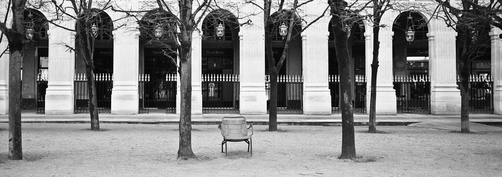 La chaise seule
