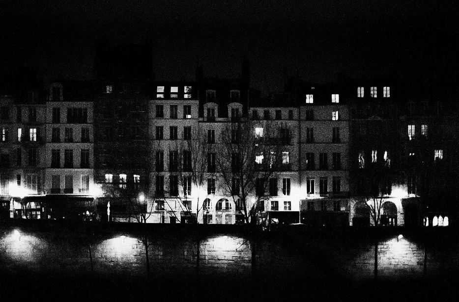 Quai des Grands Augustins, la nuit