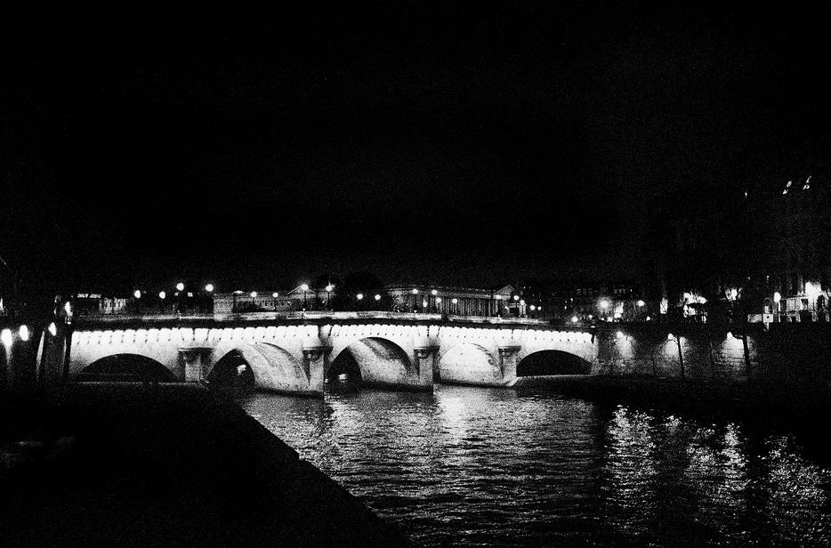 Pont-Neuf, la nuit