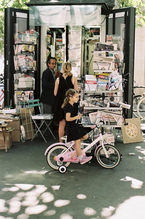 Le vélo rose