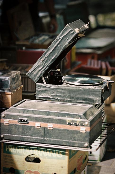 Le phonographe