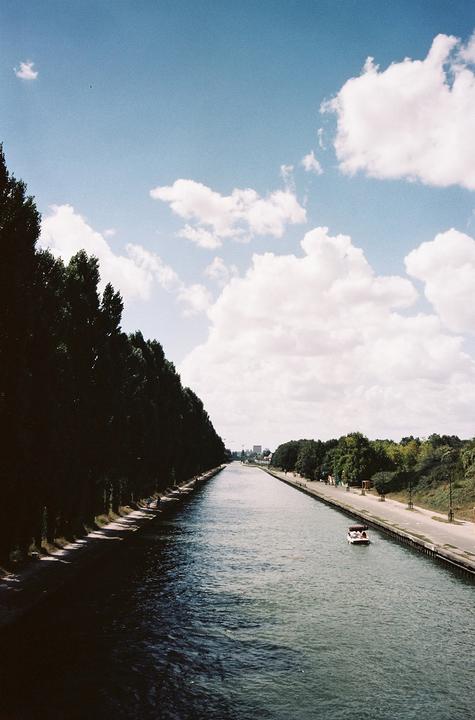 Canal de l'Ourcq à Bobigny