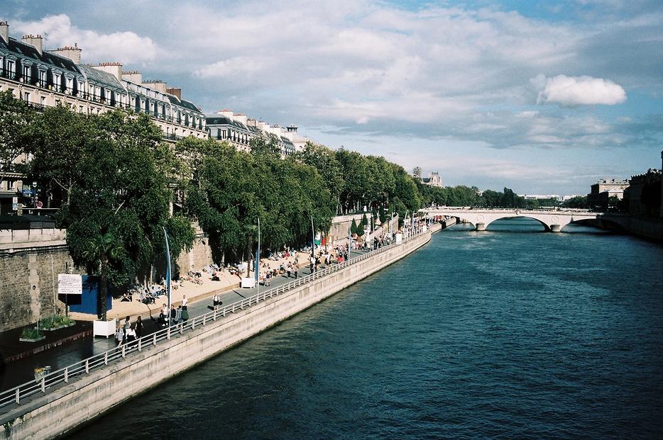 Paris Plage fin aout