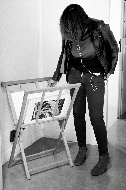 Stand Regards Parisiens lors du Festival de Street Photography