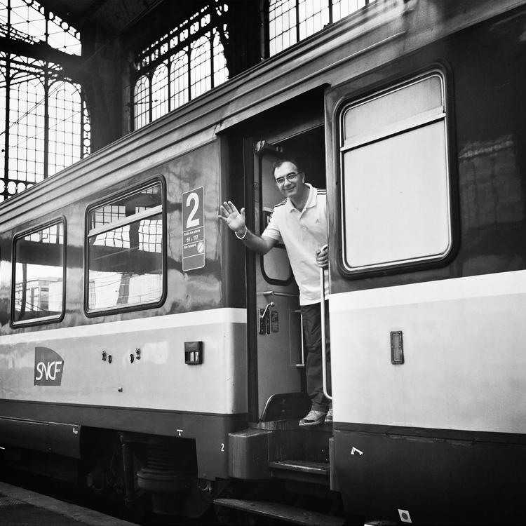 L'arrivée en gare