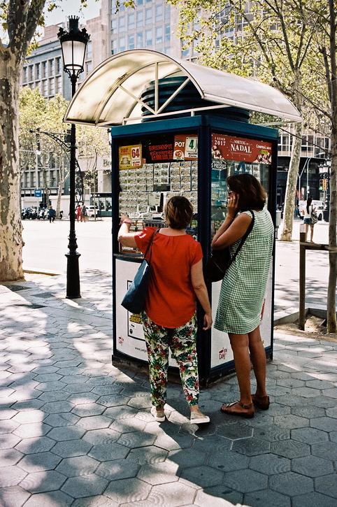 Le kiosque à loterie