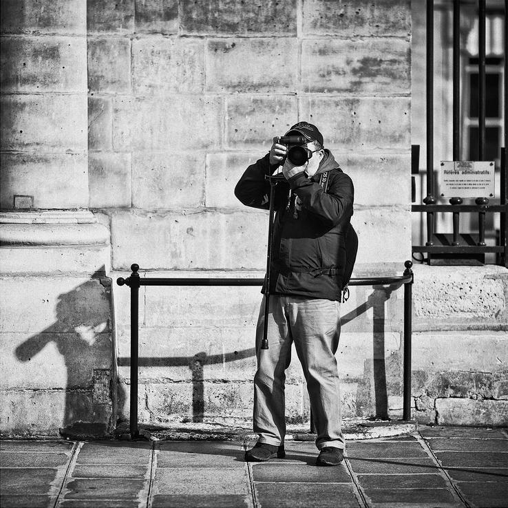 Le photographe et son ombre