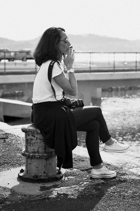 L'art délicat de la pause cigarette