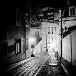 Lisbonne / Tramways la nuit