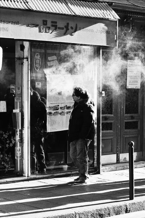 Un peu de fumée