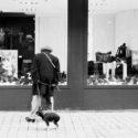 Mme Gauguin et son chien Valentin