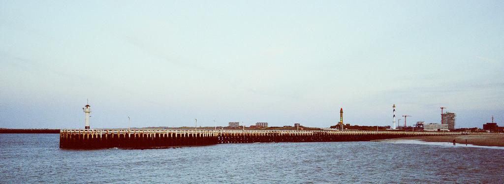 La jetée d'Ostende