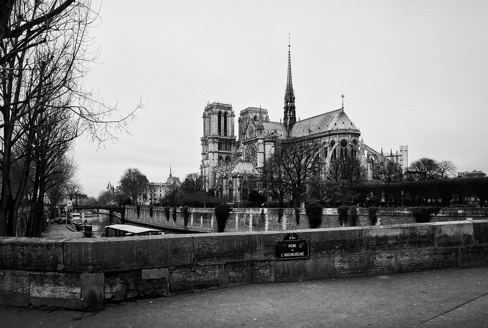 Notre-Dame en hiver