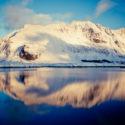 Le reflet  / Fredvang / Lofoten / Norvège