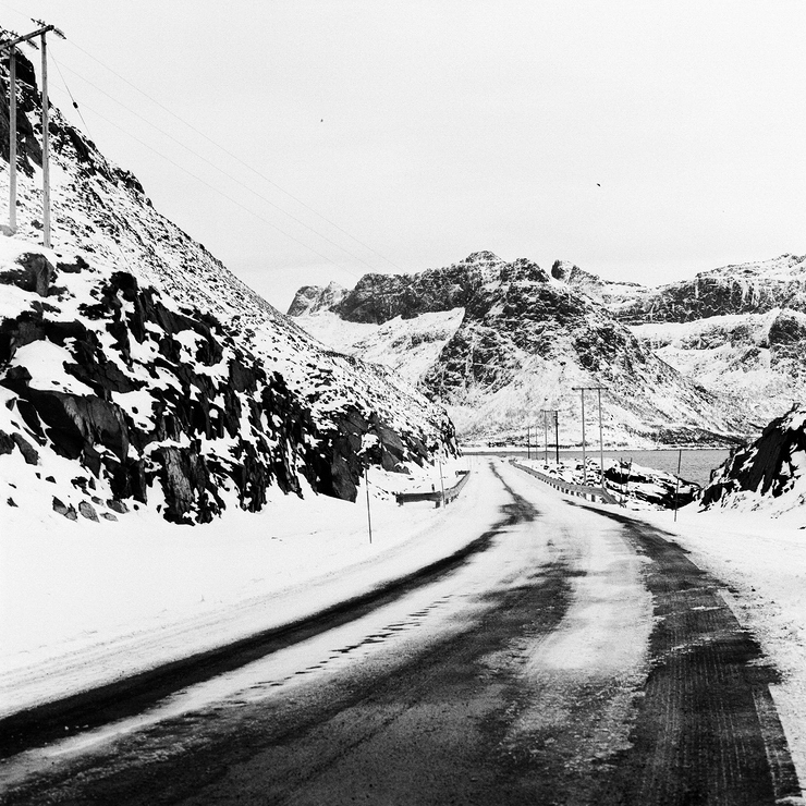 Quelque part sur la route de glace