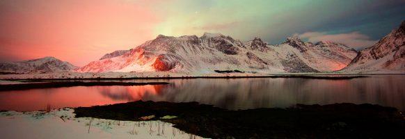 Le jour et la nuit / Vikten / Lofoten / Norvège