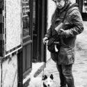 Mme Poinsignon et son chien Puppy