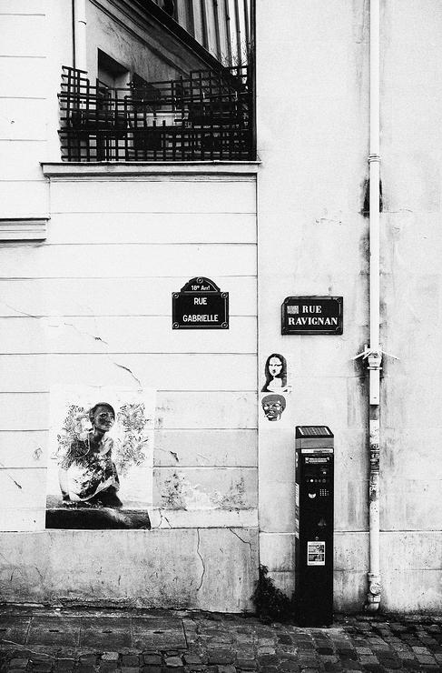 Rue Gabrielle / Rue Ravignan