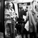 Faustine dans le métro