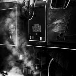Train Spécial Vapeur / Gare de l'est / Paris / France