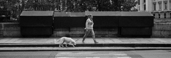 Martika et son chien Bento